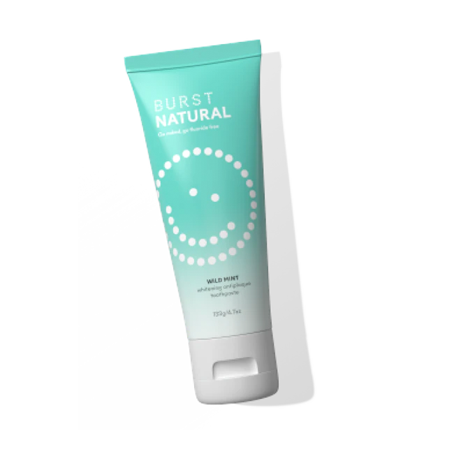 Natural Toothpaste Fluoride Free - Wild Mint